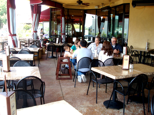 Genial Guests Enjoy The Spacious Outdoor Patio At Stonefire Grillu0027s Pasadena  Location