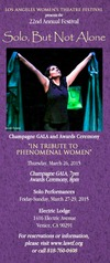 The Los Angeles Women's Theatre Festival - Opening Night Champagne Gala and Awards Ceremony