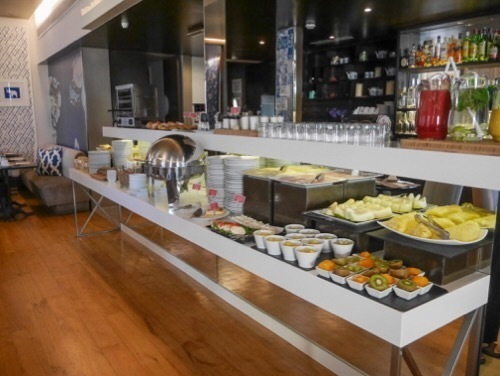 The Hotel Adjoins A Very Popular Sushi Place In Lisbon   Where Sushi Is All  The Rage. In The Morning This Restaurant Hosts A Breakfast Buffet For All  The LX ...