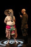 """Ganesh Versus the Third Reich"" MCA Performance Review—Outsider Art On Stage Stirs Thought and Some Squirms"
