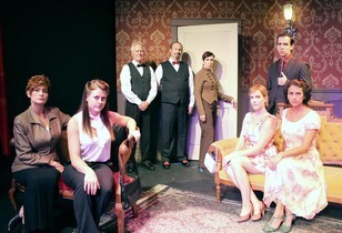No Exit - Classic Dark Comedy at Oh My Ribs Theatre in Hollywood