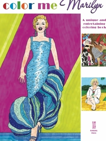 Marilyn Monroe Coloring Book With 64 Original Line Drawings Marilyn Coloring Pages