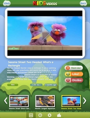 New Free Kid Safe Video Application. Kids Discover Videos Tailored to Their ...