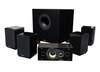 Prestige 5 home theater system delivers big style and room-filling sound in a small package