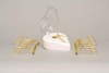 Luminous Lashes Heated Curler Cradle system with Gold Tourmaline infused Curler