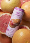 3D Pink Grapefruit