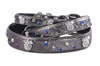 House Of Dog Pewter Paws & Sprinkles collar