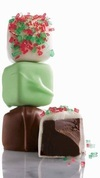 Fannie May Fine Chocolates Holiday Mint Meltaways