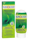 New Sunology  sunblocks for skin that prefers no synthetic chemicals only uses ingredients found in nature