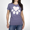 """Heart Paw"" T-Shirt for Dog Lovers from Freaky Dog People"