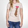 """Dog Heart"" T-Shirt for Dog Lovers from Freaky Dog People"