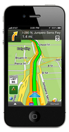 Magellan RoadMate Application 2.0 for iPhone
