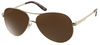 GUESS Slatter Aviator Sunglasses