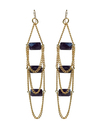 Purple Aura Jewels' Paragon Earrings