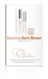 Chella Dazzling Dark Brown Eyebrow Color Kit