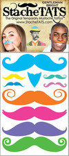 StacheTATS, The Original Temporary Mustache Tattoo