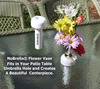 NoBrella® Flower Vase- Turn Your Patio Table Umbrella Hole Into An Amazing Floral Centerpiece
