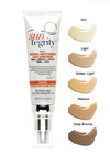 "Suntegrity ""5 In 1"" Natural Moisturizing Face Sunscreen - Tinted , Broad Spectrum Spf 30"