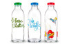 Faucet Face Reusable, Eco-Friendly Glass Water Bottles