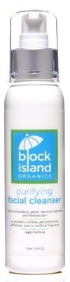 Block Island Organics Purifying Facial Cleanser