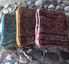 Marsala Collection Eco Silk and Wool Clutch