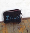 Love Wristlet Collection, Charcoal Gray