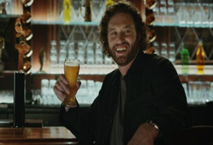 T.J. Miller and Shock Top's Wedgehead Review the Top Commercials from Super Bowl 50