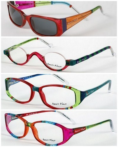 Eyeglass Frames Paint : Ronit Furst Hand Painted Eyewear Review - A Colorful New ...