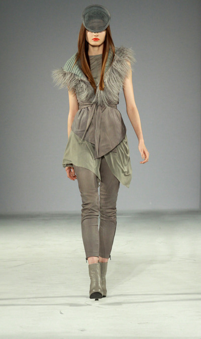 Skingraft And Mila Fall Winter 2012 Collection At Style Los Angeles Fashion Week Splash