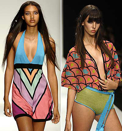 Ashley Paige swimwear and bikini Fall 2008