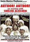 """Author! Author! an evening with Sholom Aleichem"""