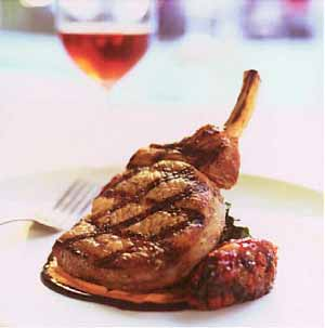 Garlic And Rosemary Lamb Chops With Honey Cider Glaze Recipe ...