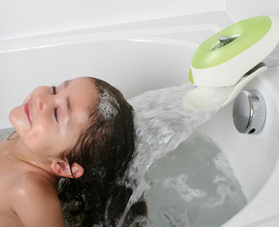 water deflector for kids by Boon