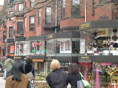 Boston vintage clothing stores boutiques shops consignment stores