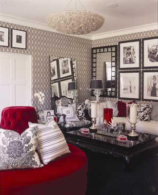 Hollywood Inspired Bedroom Home Decorating Ideas
