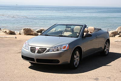 2006 pontiac g6 convertible review road test splash. Black Bedroom Furniture Sets. Home Design Ideas