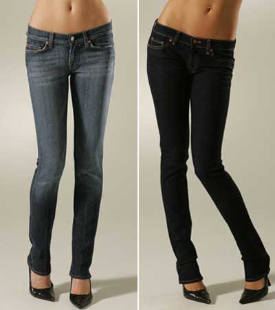 Yes, you do have to be in shape to look good in skinny jeans-sorry!