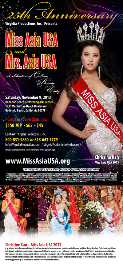 25th Annual Miss Asia Usa And Mrs Asia Usa Cultural