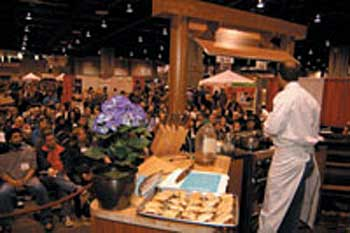 Cooking demonstrations from some of the City's top chefs