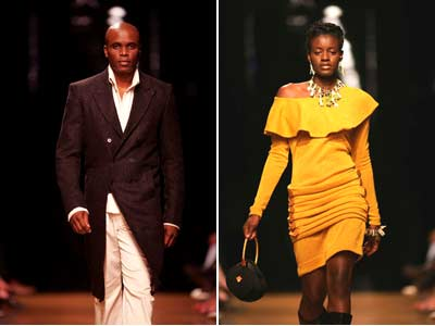 Winter Fashion Trends South Africa on Sanlam Sa Fashion Week S Fall Winter 2007 Collections   Splash