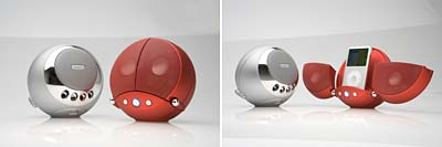 Vestalife Ladybug Speaker dock for ipod