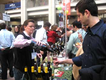 There were tastings of over 800 wines from more than 200 wineries