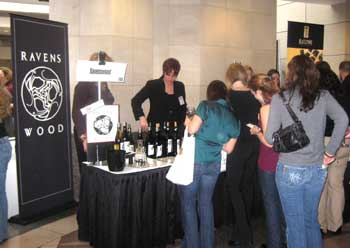 Winemakers educate guests on the production of wine
