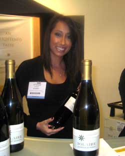 Guests sampled Solaire by Robert Mondavi