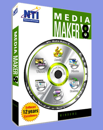 New All-in-One NTI Media Maker 8