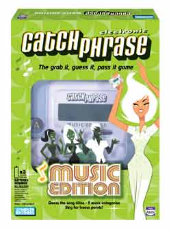 ELECTRONIC CATCH PHRASE® MUSIC EDITION
