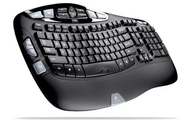 Logitech Cordless Desktop Wave Keyboard