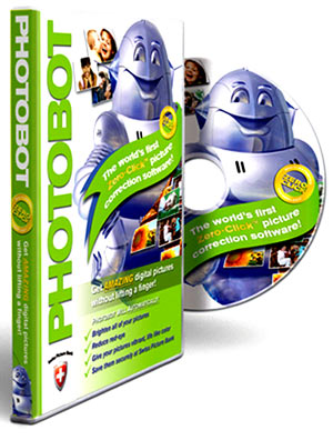 Photobot, the first zero-click photo correction software