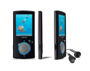 Sansa View Video MP3 Player from SanDisk