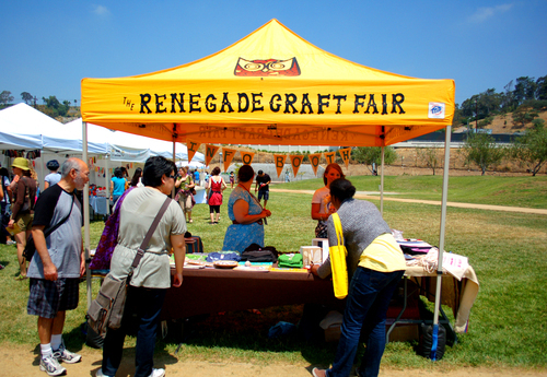 Renegade craft fair in la the best diy crafters splash for Craft fairs los angeles